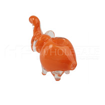 Mini Frit Elephant Hand Pipe (MSRP $7.00)