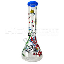 "12"" 7mm Hand Painted Water Pipe (MSRP $80.00)"