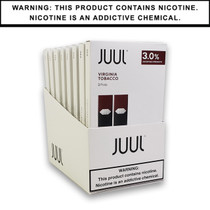 JUUL Pods 3% 2-Pack | Display of 8 (MSRP $9.99ea)
