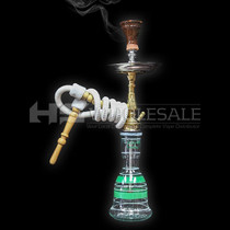 "Zezo - 24"" Arabica Hookah With Accessories  (MSRP $79.99)"