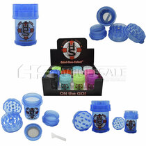 HerbSaver On The Go Grinder Assorted Display of 12 Piece *Drop Ship* (MSRP $12.99 Each)