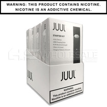 JUUL Starter Kit |  Virginia Tobacco & Mint 5% 2-Pack | Display of 4 (MSRP $44.99ea)
