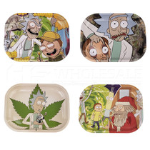 "7"" Metal Character Design Rolling Tray (MSRP $12.00)"