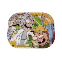"7"" Metal Character Design Rolling Tray (MSRP $10.00)"
