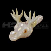 Reindeer Face Spoon Hand Pipe (MSRP $30.00)