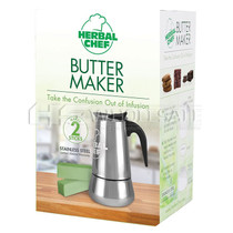 "8"" Butter Maker By Herbal Chef (2 Sticks) *Drop Ship* (MSRP $49.99)"