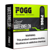 FOGG VAPE 1.2ml 5% Disposable Pod System - Pack of 3 (MSRP $20.00)
