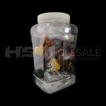 4-5'' Inside Out Mix Hand Pipe 16-Pcs Jar (MSRP $10.00ea)