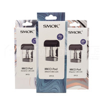 Smok - Mico Replacement Pods - Pack of 3 (MSRP $10.00)