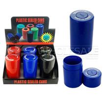 Plastic Sealed Storage Cans - Display of 6 (MSRP $6.00ea)