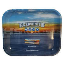 ELEMENTS - Rolling Tray Metal Large (MSRP $20.00)
