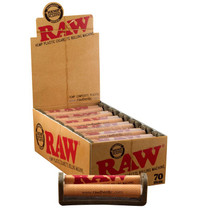 RAW® - 336 Eco Plastic Rollers 70mm - Display of 12 (MSRP $3.00ea)