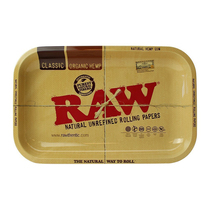 RAW - Small Metal Rolling Tray (MSRP $12.00)