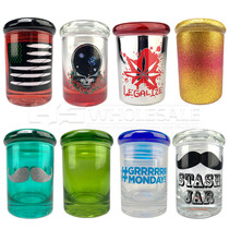 1/8oz Storage Jar Multiple Designs (MSRP $10.00)