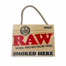 RAW® - Painted Sign (MSRP $15.00)