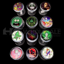 Jumbo Size Clear Jar with Assorted Design (MSRP $12.00)