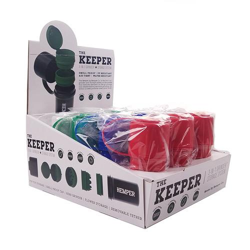 Hemper - The Keeper Grinder - Display of 12 (MSRP $10.00ea)
