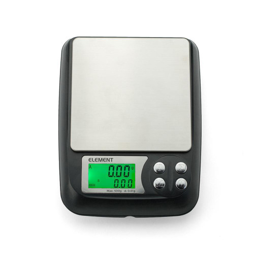 Truweigh - Element DIY E-Liquid Scale - 500g X 0.01g (MSRP $49.99)
