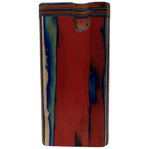 "4"" Multicolor Plain Wood Dugout (MSRP $8.00)"