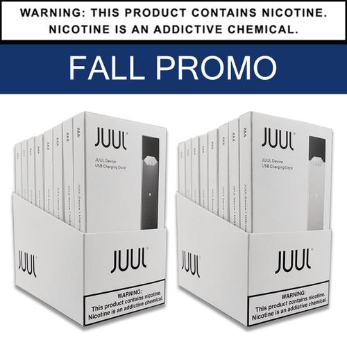 JUUL | Basic Kit | Display of 8 | FALL PROMO (MSRP $9.99ea)