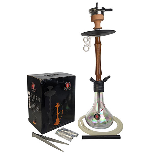 "Amy Deluxe - 24"" Hookah - Jungle - Clear (MSRP $190.00)"