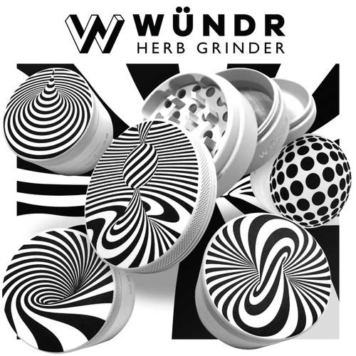 WÜNDR - 63mm 4 Part Matte Grinder (MSRP $40.00)