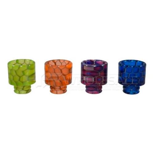 510 Cobra Resin Drip Tip Assorted Colors Pack of 5 (MSRP $6.00ea)