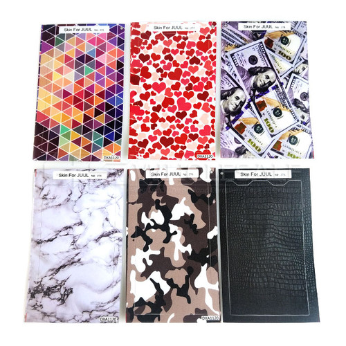 Sticker Wrap for JUUL - Assorted 6 Pack (MSRP $5.00ea)