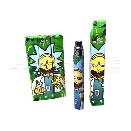 Art Design Cartomizer Batteries - 5 Pack (MSRP $10.00ea)