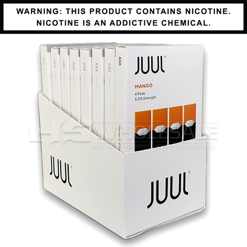 Mango JUUL Pods 5% 4-Pack | Display of 8