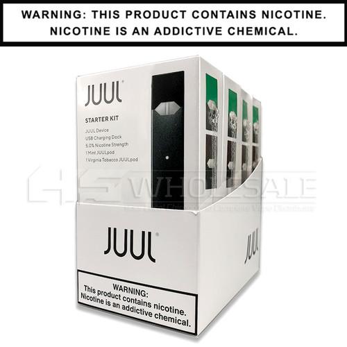 JUUL Starter Kit   Virginia Tobacco & Mint 5%   HS Wholesale