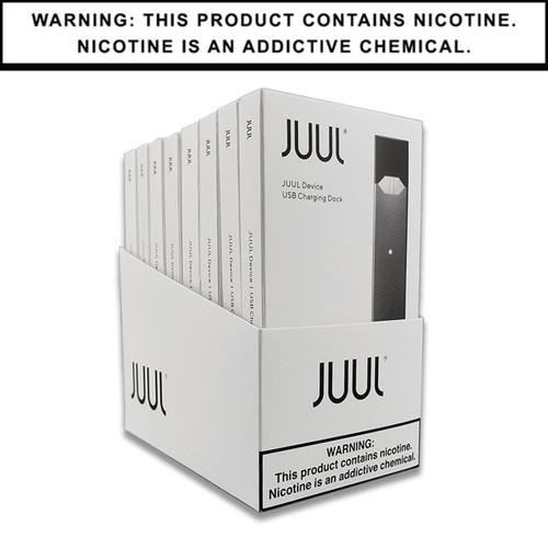 JUUL Basic Kit   Slate   Display of 8 (MSRP $34.99ea)