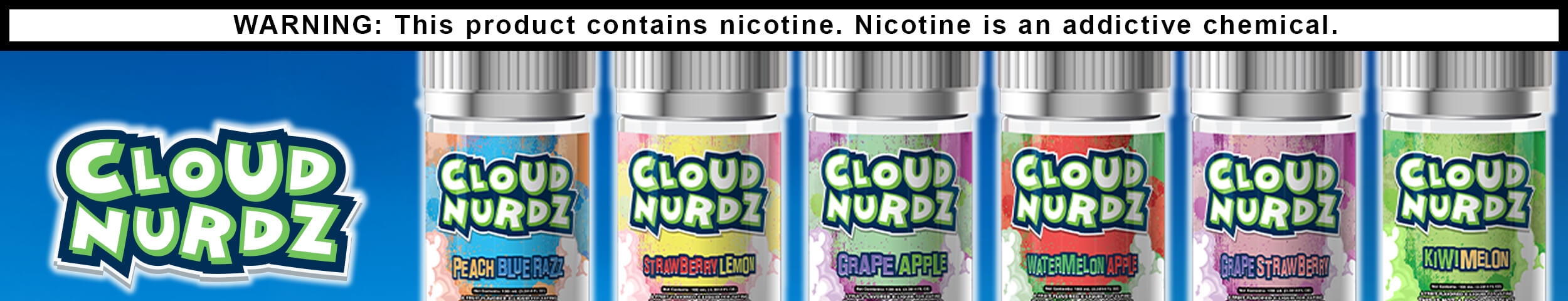Wholesale Cloud Nurdz Eliquid