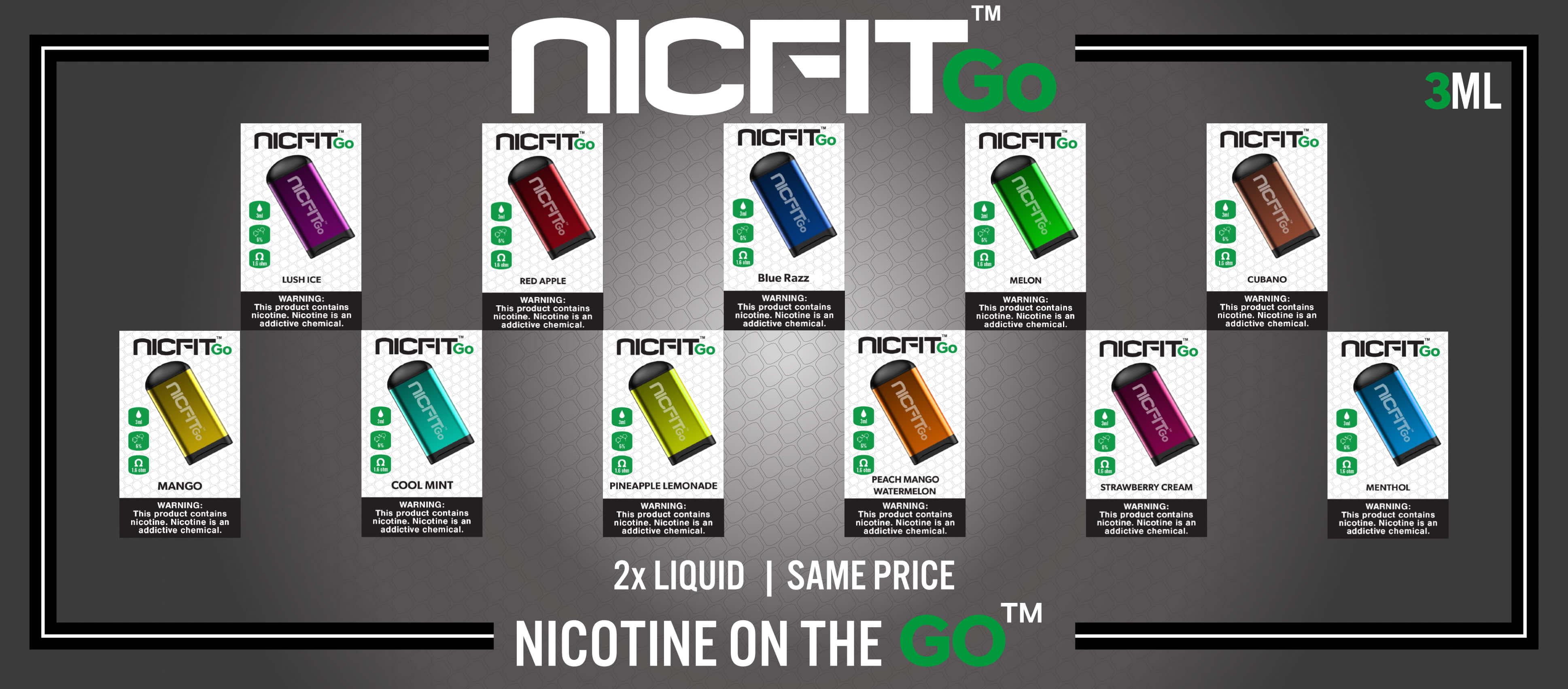 NicFit Go Disposables