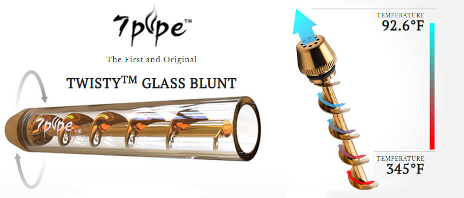 7pipe Wholesale Glass Blunt