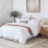 Chiara White European Pillowcase [HABBCHIAR20_EURA]