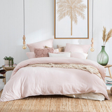 Java Blush Washed European Pillowcase [HABBJAVA18_EURE]