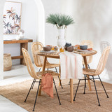 Abode Round Dining Table [HABLABODEW18A]