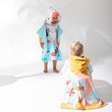 Mermaid Kids Hooded Beach Towel [SUNLMERMO21]
