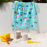 Dino Salad Beach Towel [SUNLDINOS21]