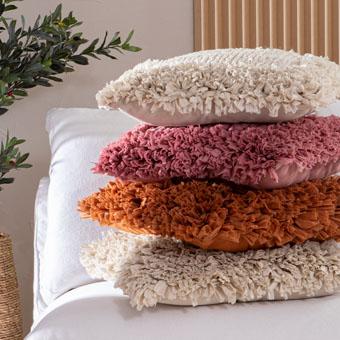 Soiree and Savoy cushions   Pillow Talk