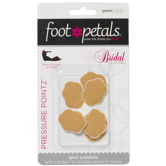 Pressure Pointz - Buttercup Bridal Collection for Weddings - by Foot Petals