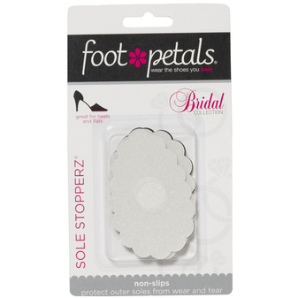 Sole Stopperz Adhesive Treads - Bridal Combo Pack for Weddings - by Foot Petals