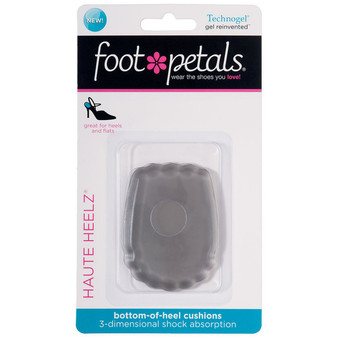 Haute Heelz - Technogel Heel Pads - in Packaging - by Foot Petals