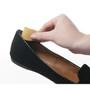 Heavenly Heelz - Heel Grips Black - Placement in Shoe - by Foot Petals