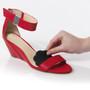 Tip Toes Black in Shoe