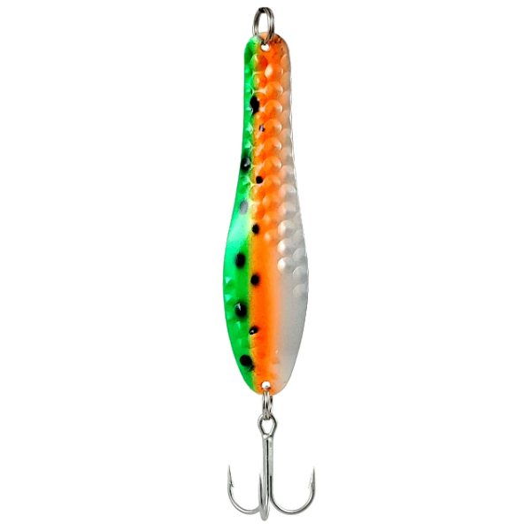 Orange-Green Trout / Pearl Back
