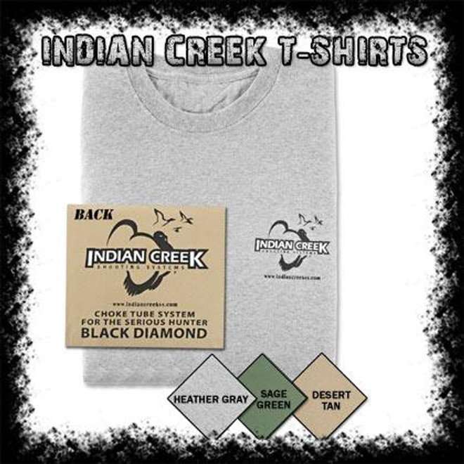 Indian Creek T-Shirts Nuetral
