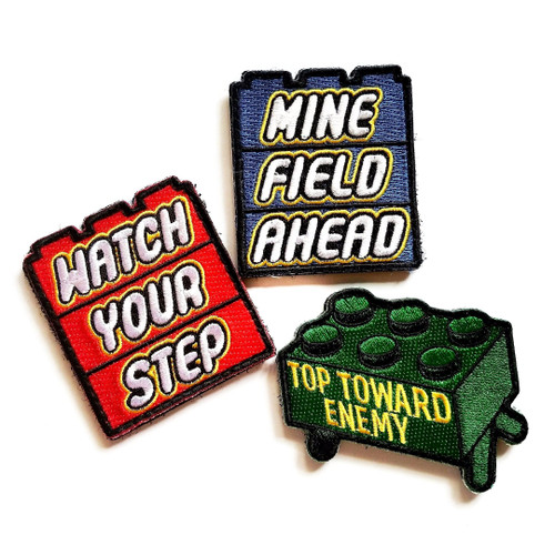 Minefield Morale Patch Set