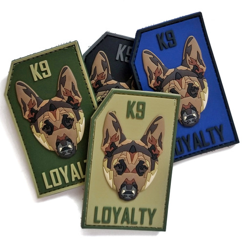 K9 Loyalty PVC Morale Patch